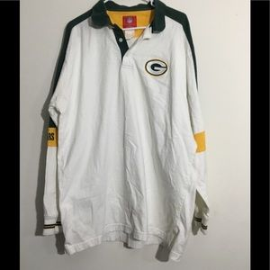 Green Bay Packers Coaches Sideline Polo Shirt